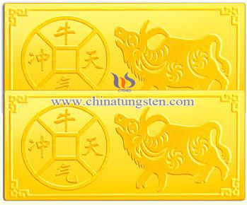 Ox Tungsten Gold Plated Bar Professional Manufacturer And Supplier Chinatungsten Online
