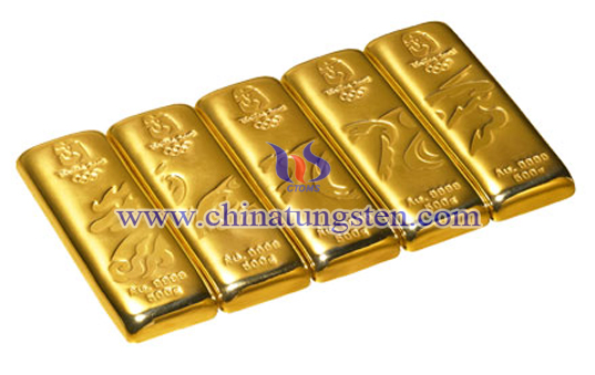 tungsten gold bar for gold shooting replacement
