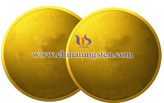 tungsten gold coin for Army Day