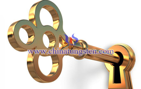 tungsten gold key for house purchase gift