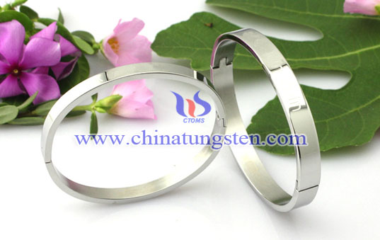 tungsten gold-plated bracelet for wedding anniversary