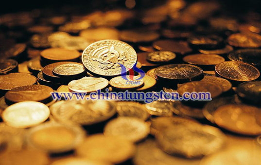 tungsten gold plated coin for graduation commemoration