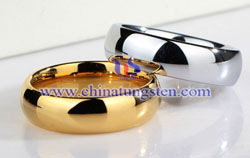 tungsten gold rings